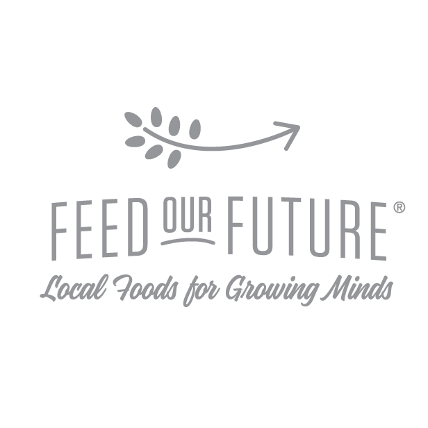 Feed our future logo (gray)