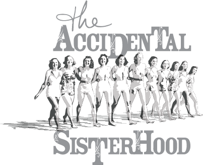 Accidental Sisterhood logo (gray, cropped)